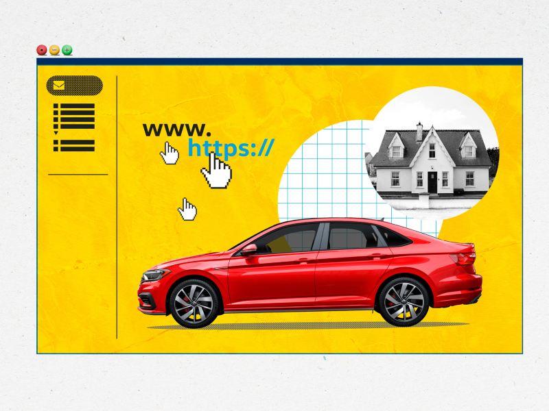 Comienza la compra de un auto en línea con el sistema de apartado de VW