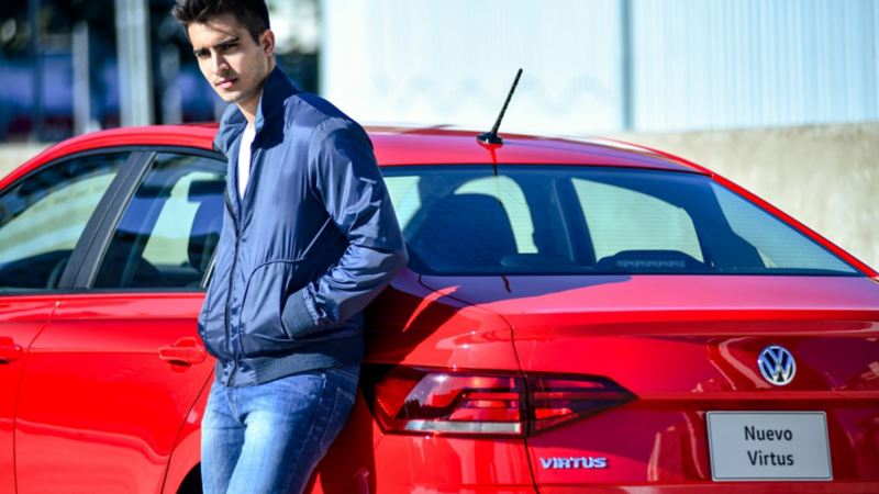 Dueño de Nuevo Virtus 2020 adquirido de forma fácil a través de Volkswagen Financial Services
