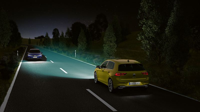 We Upgrade even allows you to add the Light Assist system onto your Golf 8.
