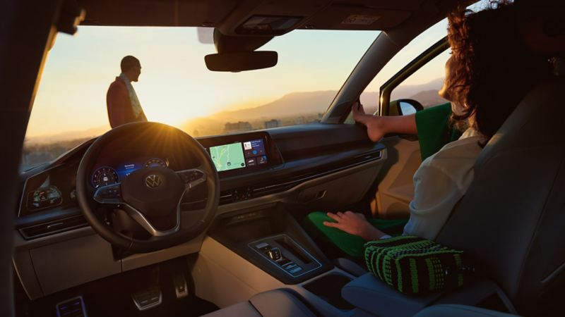 Voice control can be activated as an upgrade later – allowing you control your VW with your natural speaking voice.