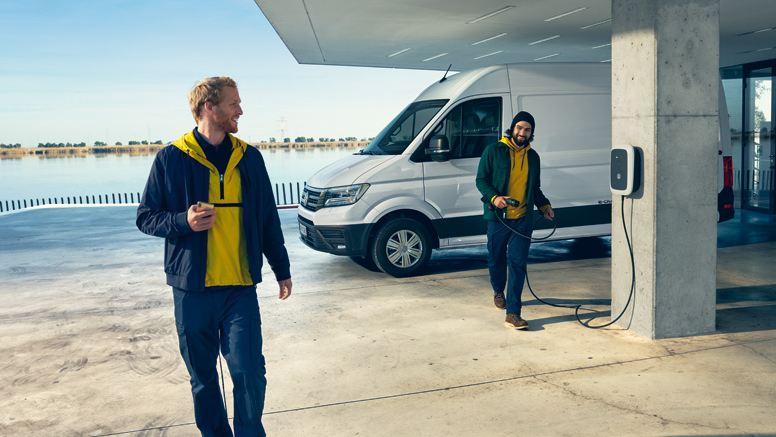 vw Volkswagen e-Crafter el varebil elektrisk varebil elbil elvarebil service og vedlikeholdsavtale merkeverksted verksted
