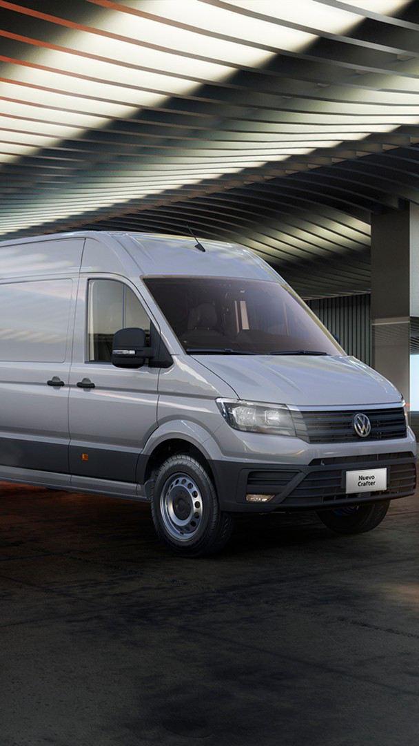 Crafter de Volkswagen - La camioneta de carga parte del catalogo de Vehículos Comerciales VW