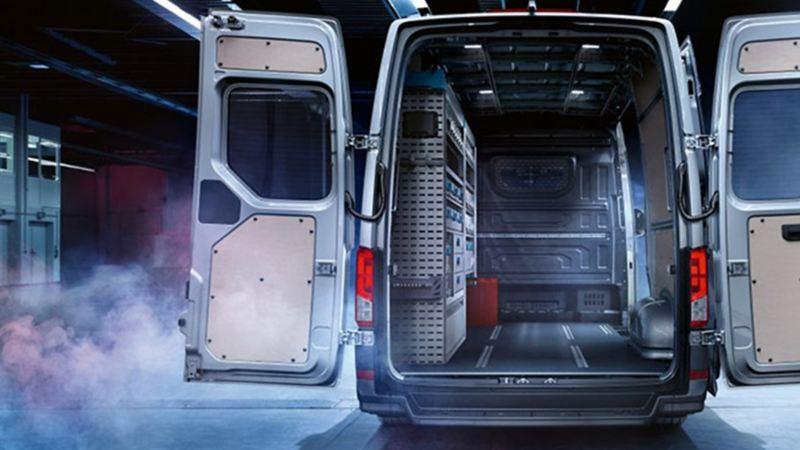 Crafter Volkswagen - Camioneta de carga con espacio interior amplio