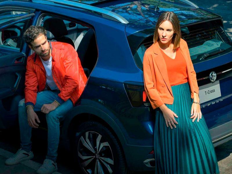 T-Cross entre dos es un novedoso financiamiento de autos para comprar un SUV con otra persona