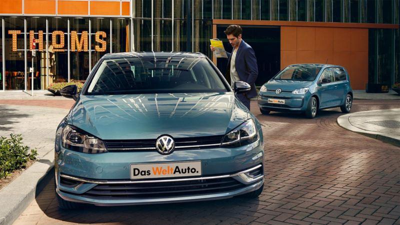 Hos VW-återförsäljaren