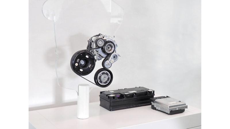 Nowy Golf w wersji mHEV z instalacją elektryczną o napięciu 48V