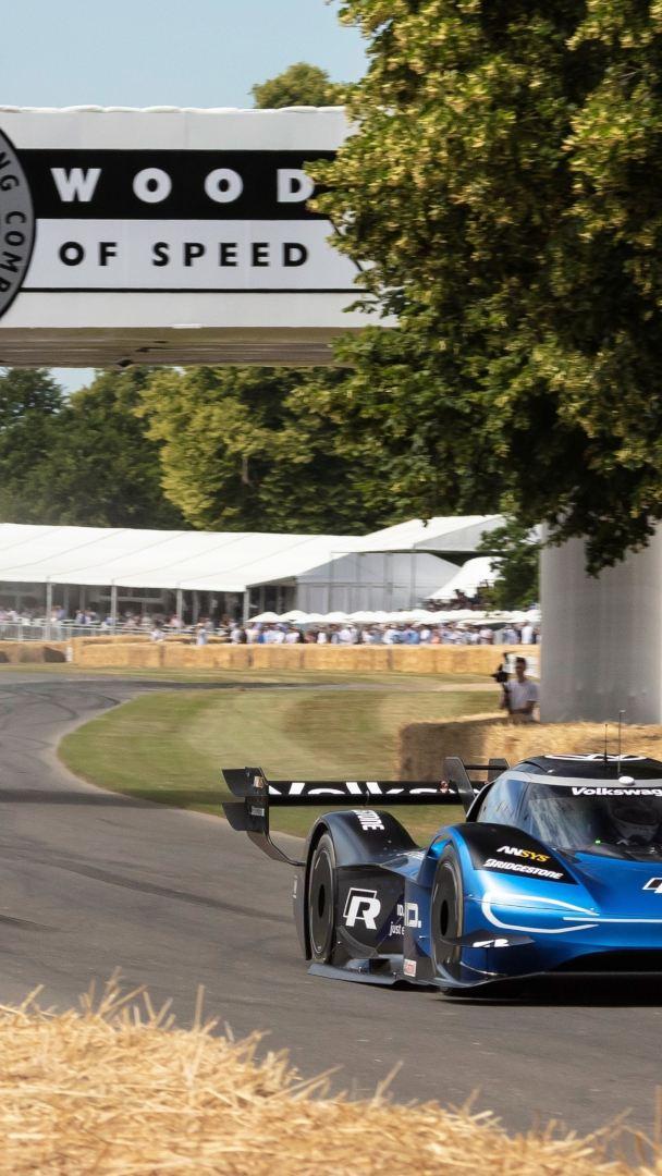 Szybszy niż Formuła 1: ID.R ustanawia nowy rekord trasy w Goodwood