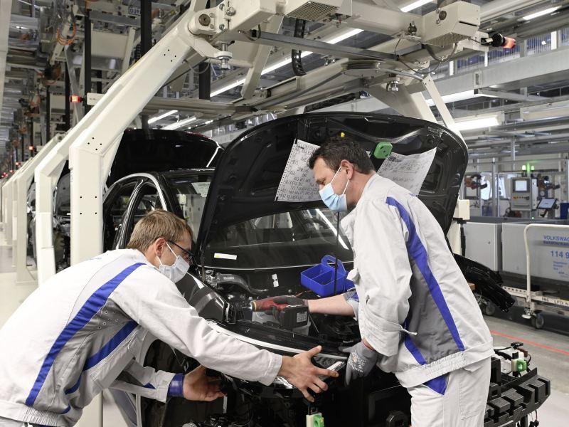 Fabryka w Zwickau stopniowo zwiększa produkcję modelu ID.3