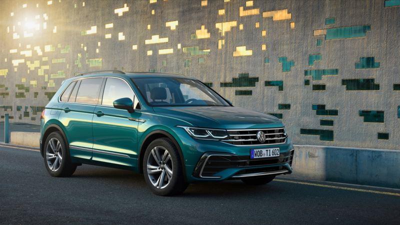 Volkswagen Tiguan - najlepiej sprzedający się SUV w Europie zaprezentowany w nowej odsłonie