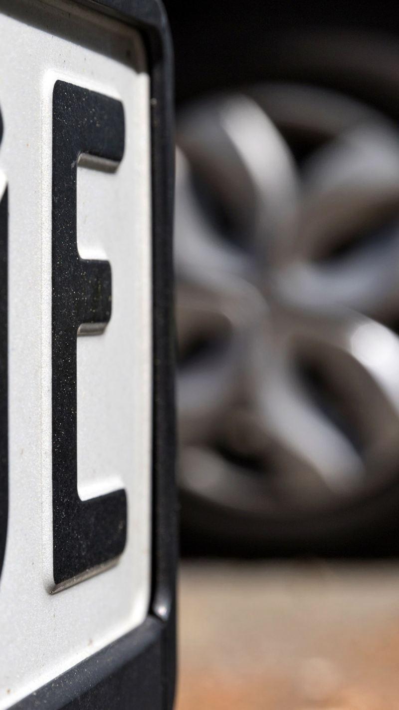 Deutsches Kennzeichen für Elektrofahrzeuge