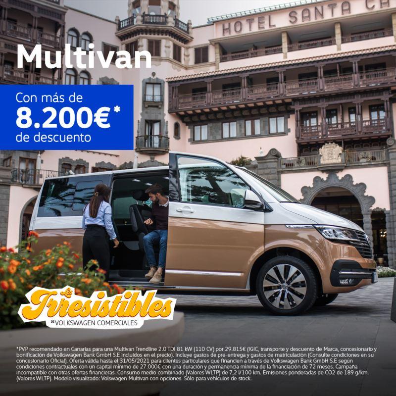 multivan irresistibles Volkswagen Comerciales