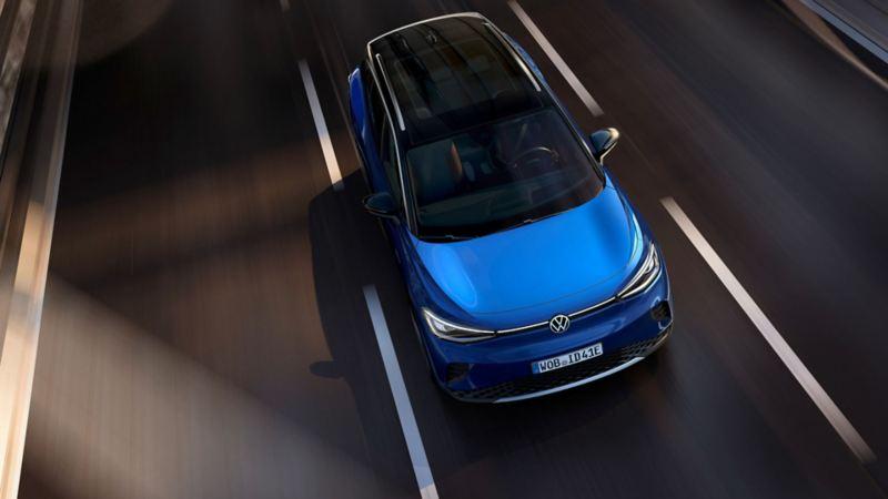 Diseño exterior de SUV eléctrico ID. 4 de Volkswagen