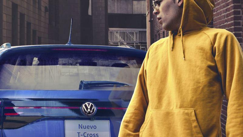 Colores del diseño New Brand Design de Volkswagen - SUV Nuevo T-Cross color azul