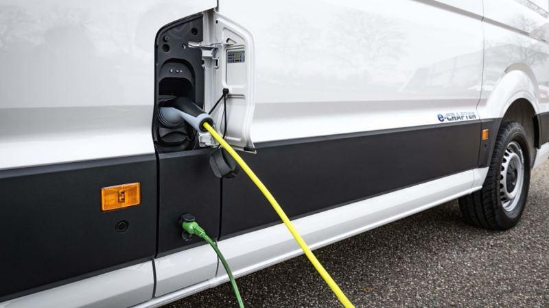 100% elektrische Volkswagen bedrijfsbus