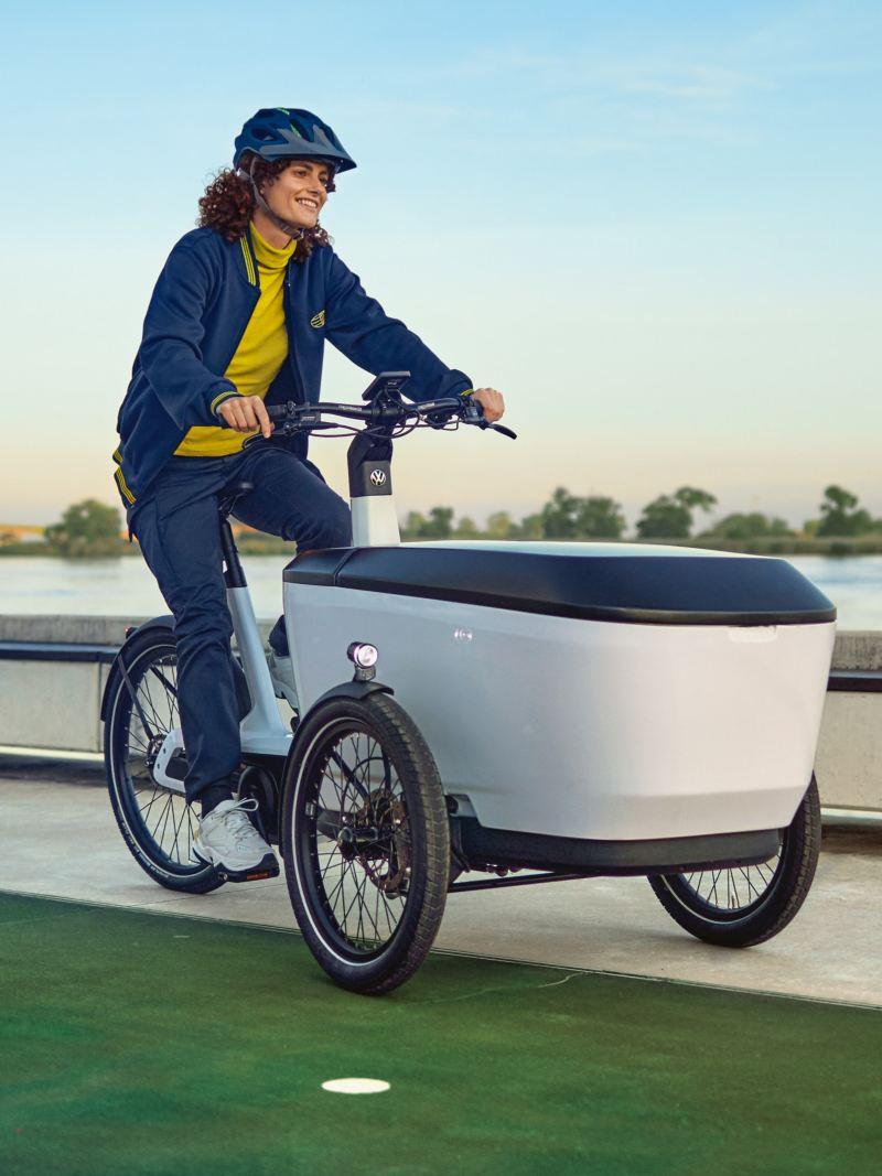 Cargo e-Bike de Volkswagen véhicules utilitaires balade