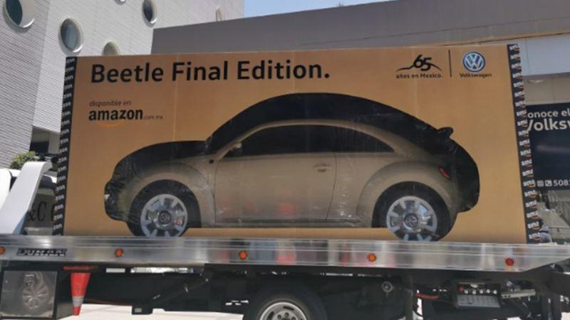 Entrega de Beetle Final Edition en colaboración con Amazon