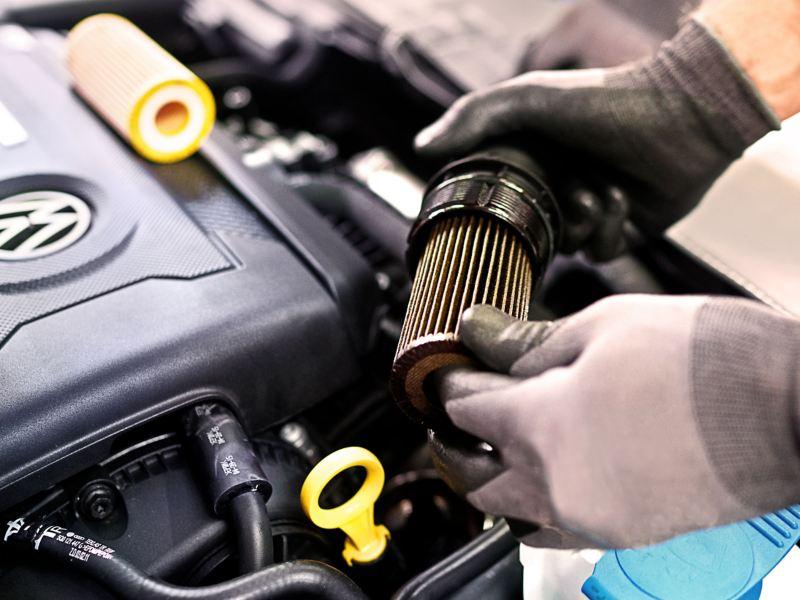 Funciones del filtro de Aceite en Motores VW para mejorar rendimiento