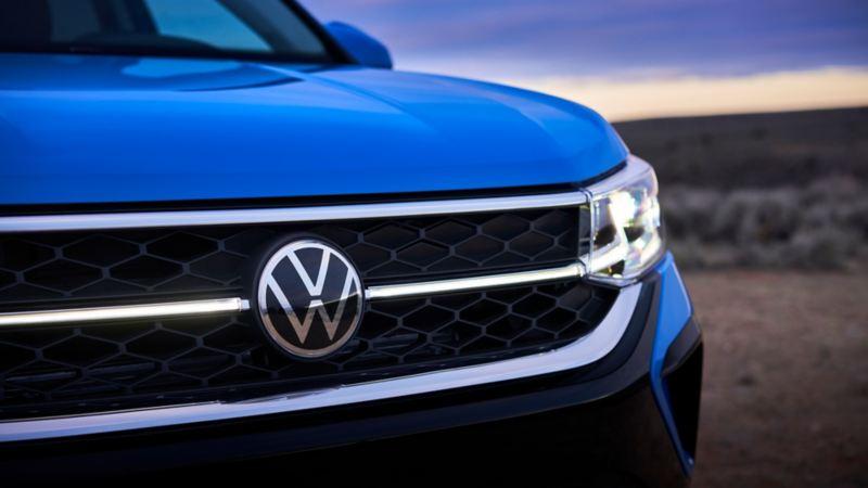 Fotos del diseño exterior del SUV Nuevo Taos de Volkswagen México