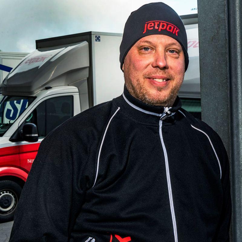 Fredrik Gunnarsson på Jetpak