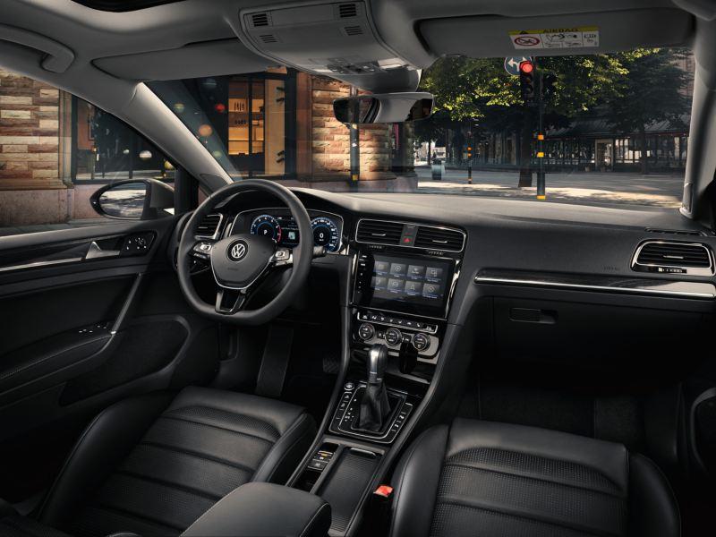 The Volkswagen Golf interior overview