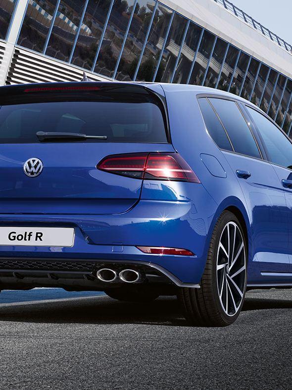 golf r rear view