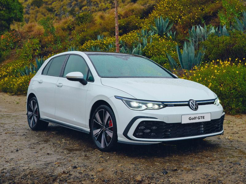 The new Golf 8 GTE