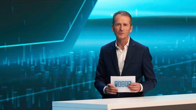 Herbert Diess at Volkswagen Power day