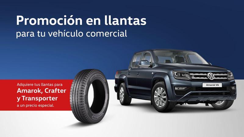 Promoción en llantas para Amarok, Crafter y Transporter Volkswagen