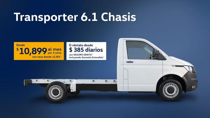 Promociones VW Transporter 6.1 Chasis 2021
