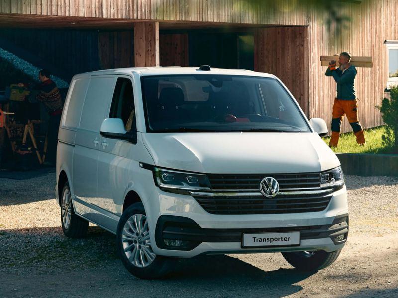 Volkswagen Transporter 6.1 panel van front