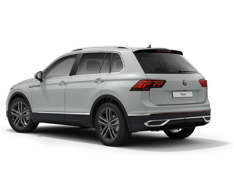 Back of the Volkswagen Tiguan Elegance