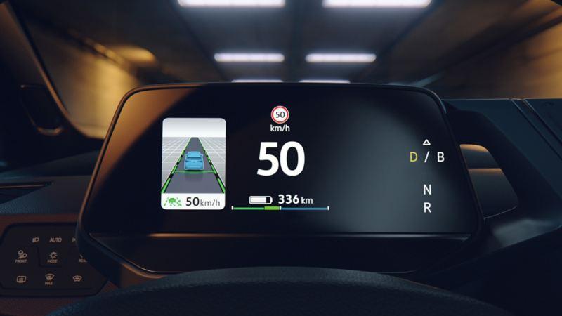 Affichage central de la VW ID.3 1ST