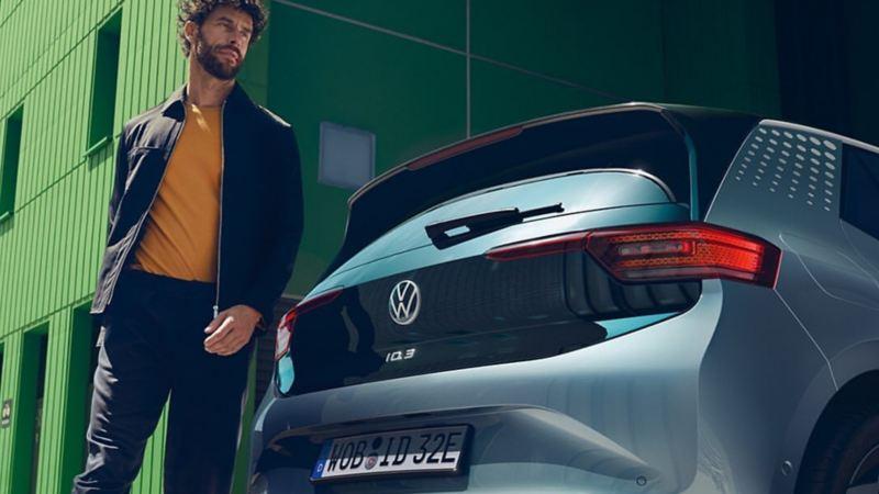 ID.3 el auto eléctrico de Volkswagen en marcha con sonido de AVAS para identificarlo
