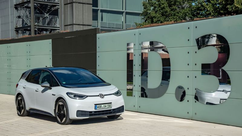 ID.3, el carro eléctrico compacto equipado con plataforma MEB