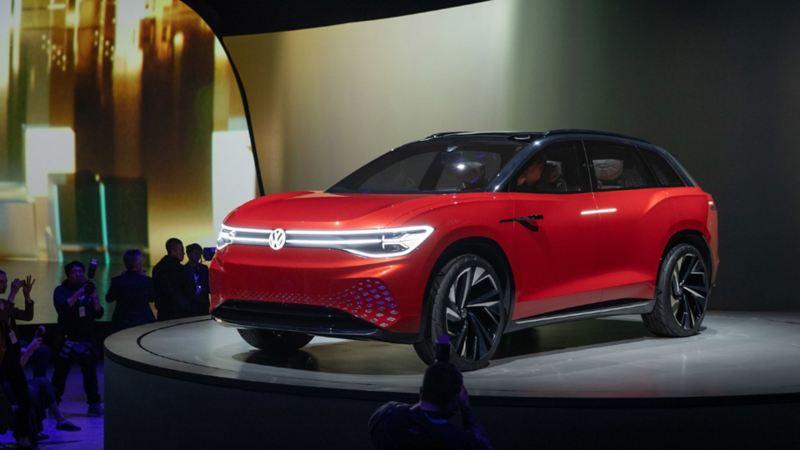 ID. Roomzz VW, SUV eléctrico de conducción autónoma, sistea IQ y batería de 82 kWh