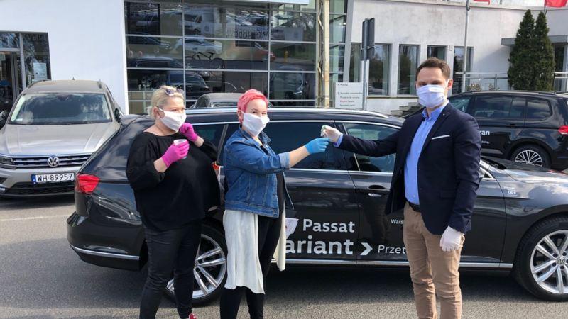 Volkswagen zaangażował się w pomoc inicjatywom wspierającym walkę ze skutkami pandemii