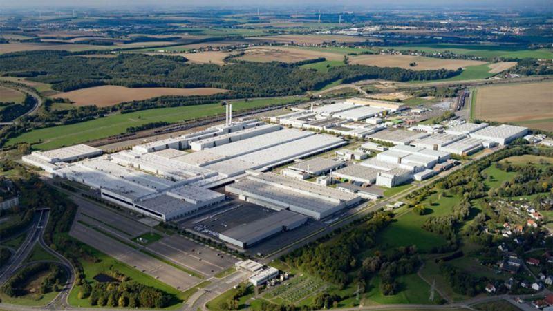Panorama des Standortes der Volkswagen Osnabrück GmbH