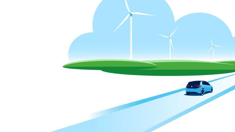 Illustration Klimaschutz