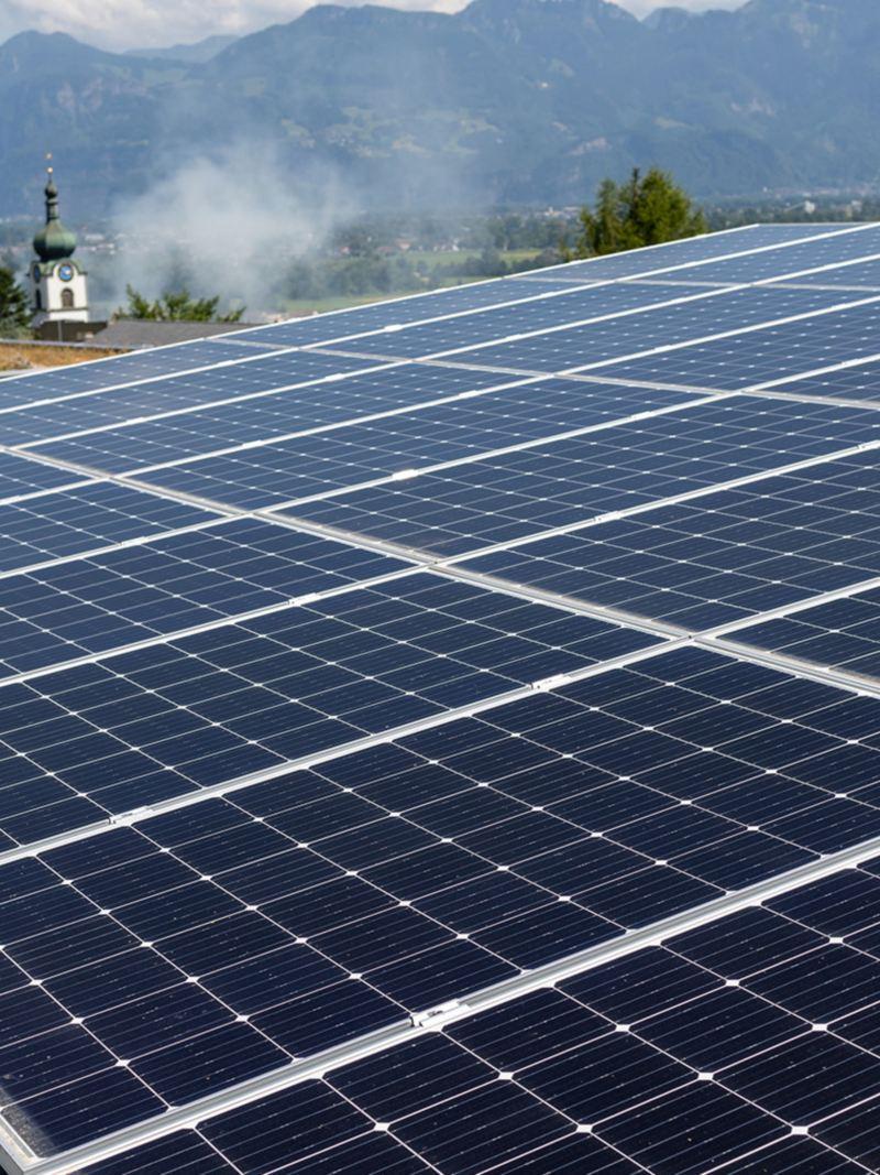 Alimentation en énergie solaire