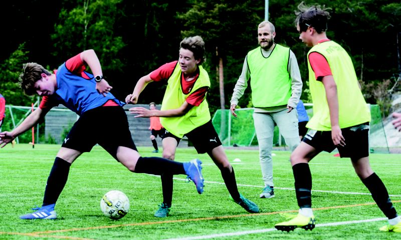 Jalkapallotreenit