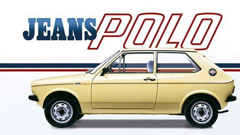 Polo versión Jeans, auto clásico Volkswagen modelo 1976