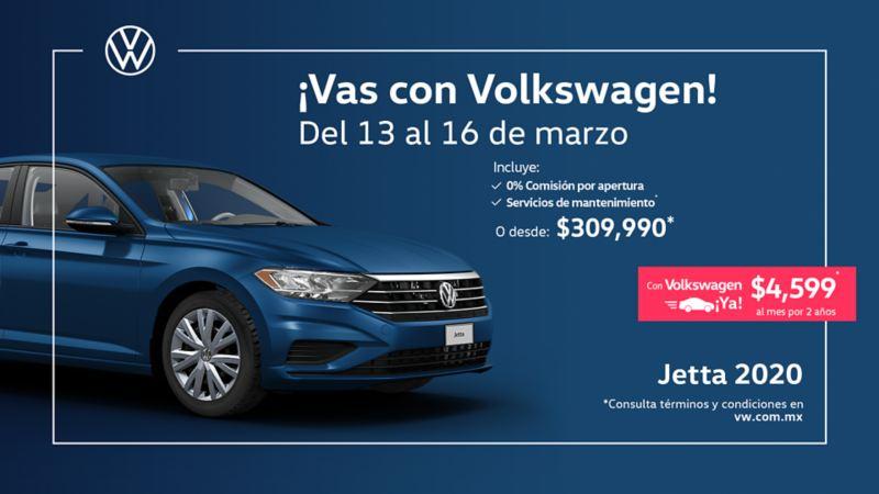 Jetta 2020 - Obtén este sedán a precio accesible en las ofertas de marzo de Volkswagen