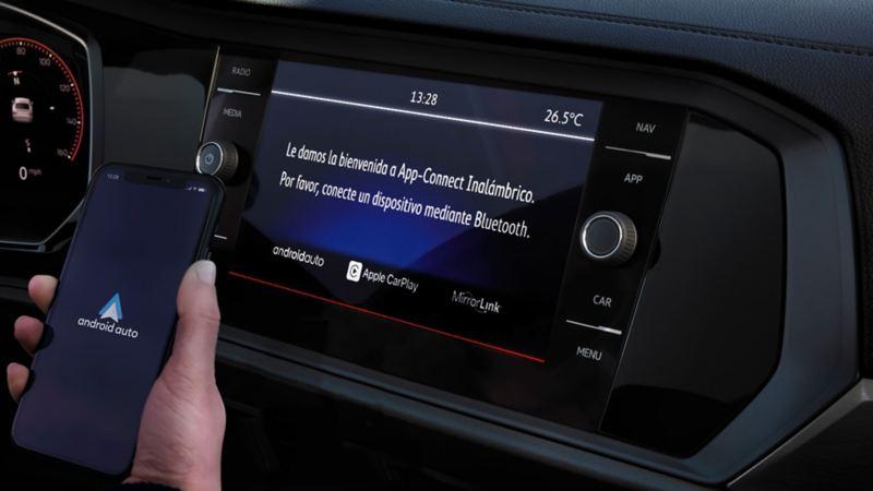 Wireless App Connect en Jetta 2021 Volkswagen que permite conectar tu auto y smartphone