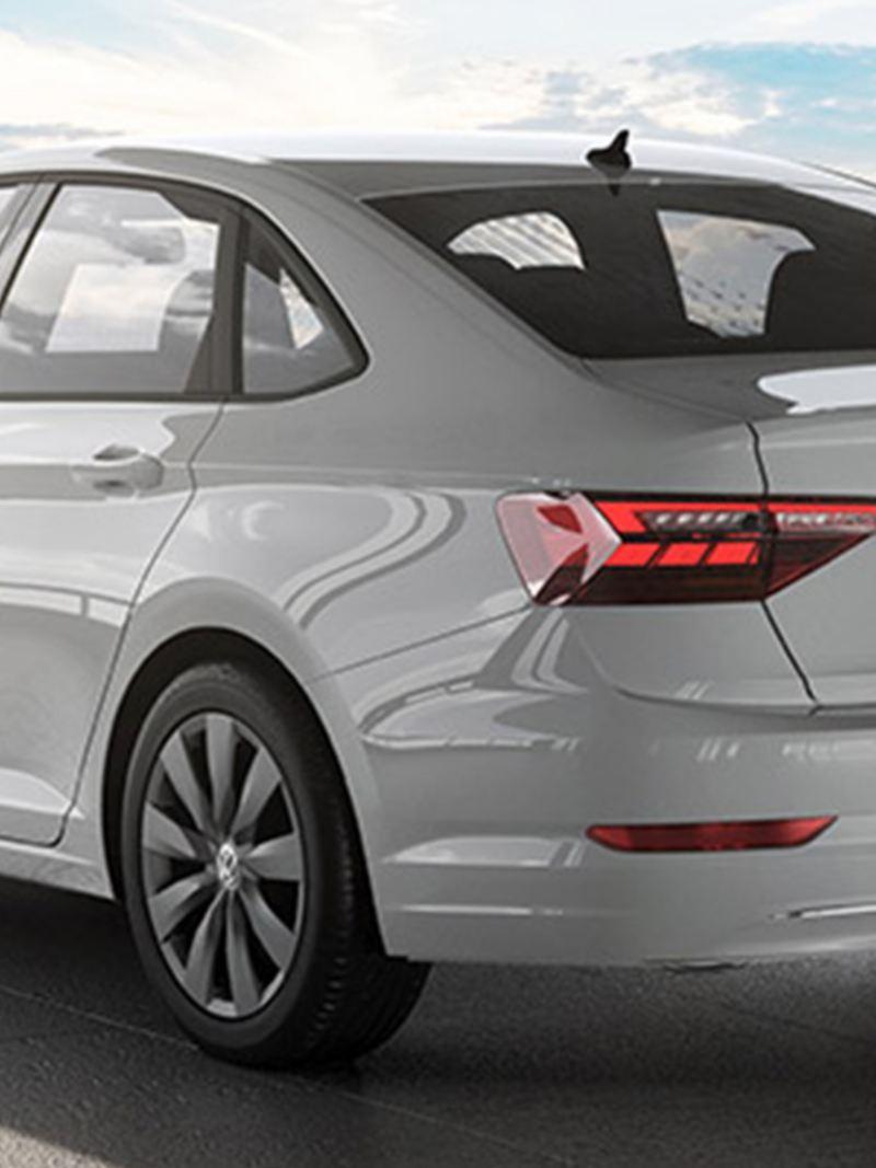 Volkswagen Jetta vista trasera
