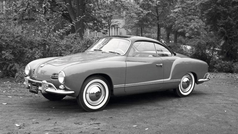 Karmann Ghia, el auto clásico en versión convertible de Volkswagen