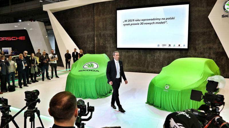 7 marek, 67 samochodów – imponująca ekspozycja Volkswagen Group Polska w związku z Poznań Motor Show 2019