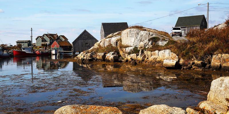 Vissa delar av Nova Scotia påminner en hel del om vår egen Västkust
