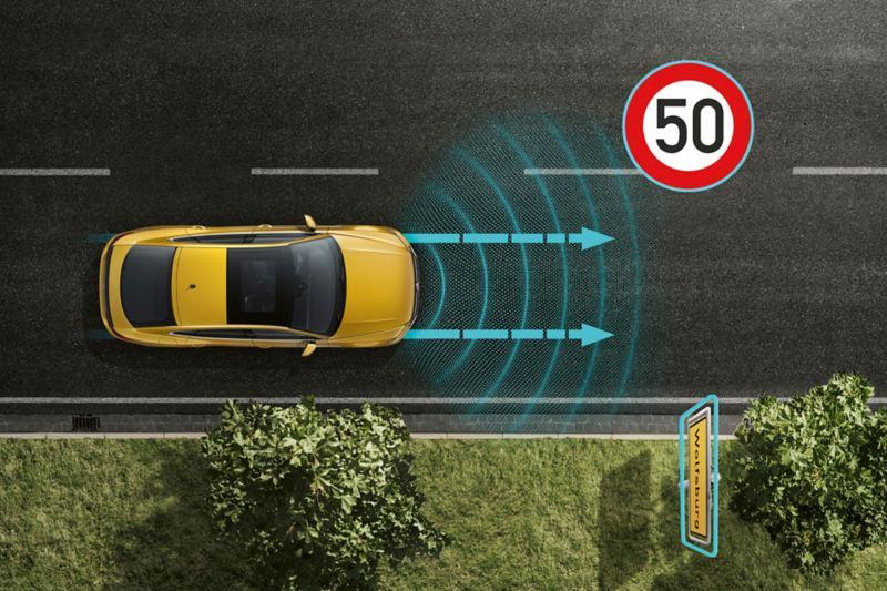 Aktywny tempomat ACC z automatyczną regulacją prędkości *