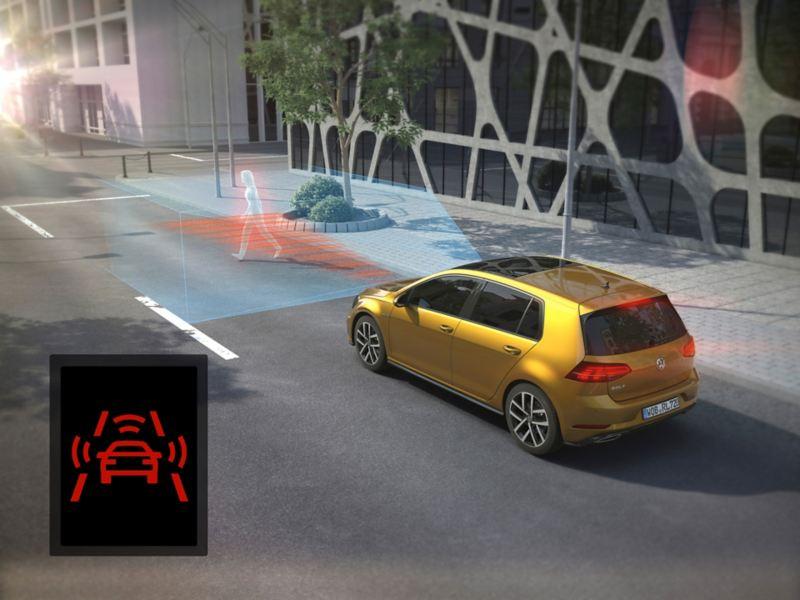 System monitorowania otoczenia Front Assist z ochroną pieszych