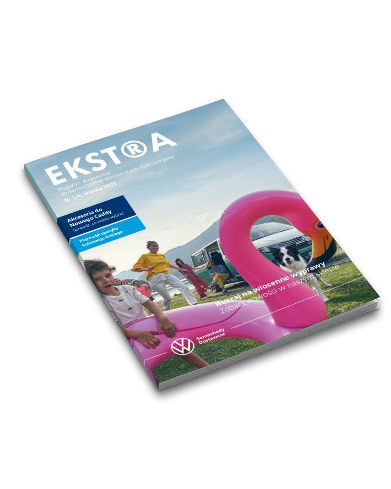 Okładka wiosennego wydania Magazynu EKSTRA
